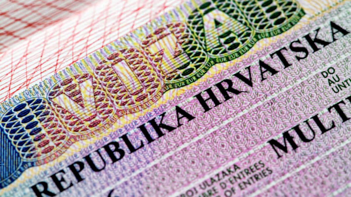 виза хорватия шенген