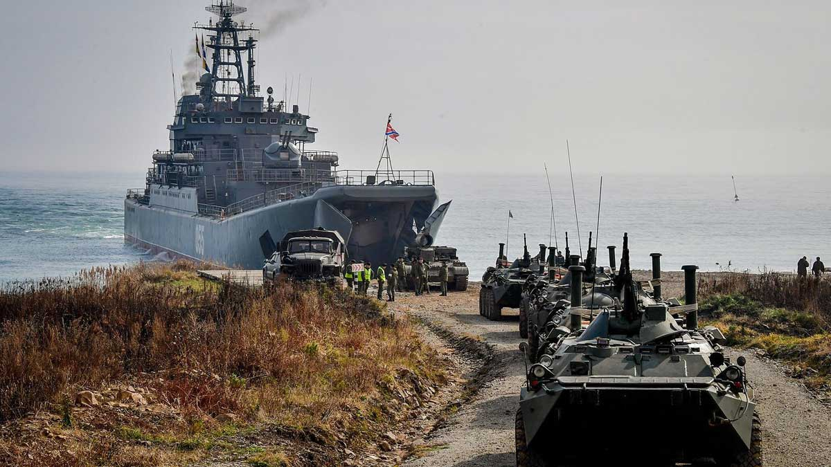 военные учения Вооруженных сил России