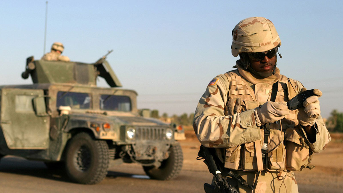 войска сша в ираке солдат