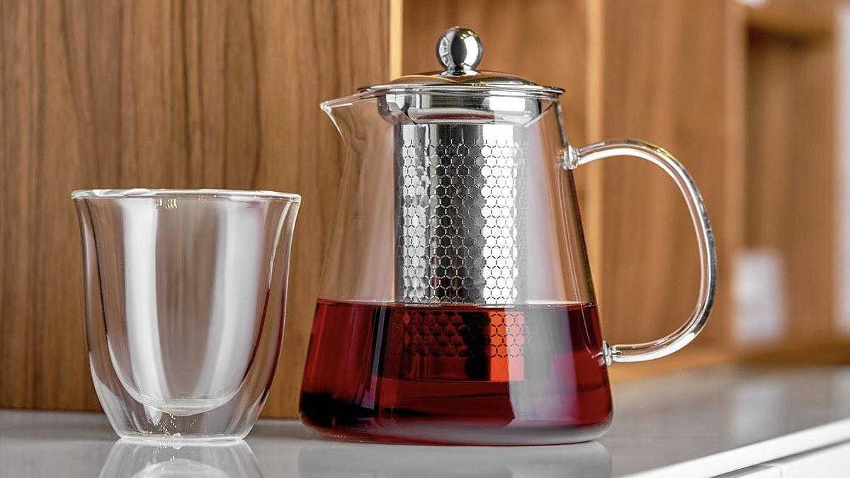 чай заварка в чайнике