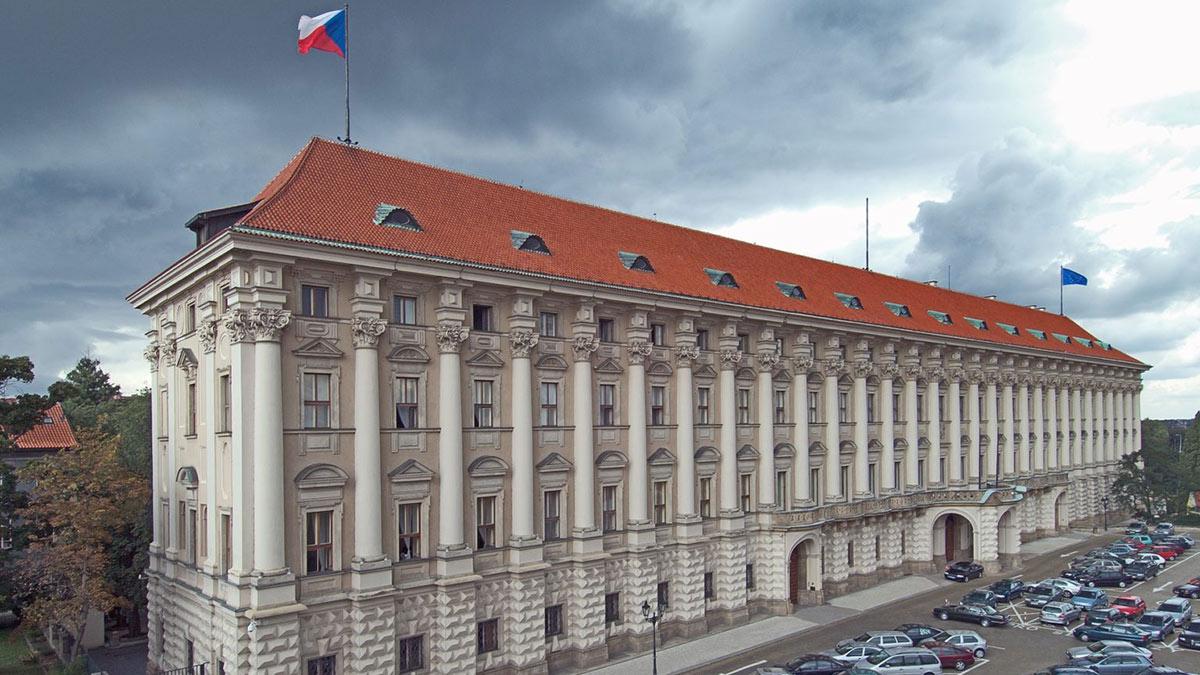 здание мид чехии прага