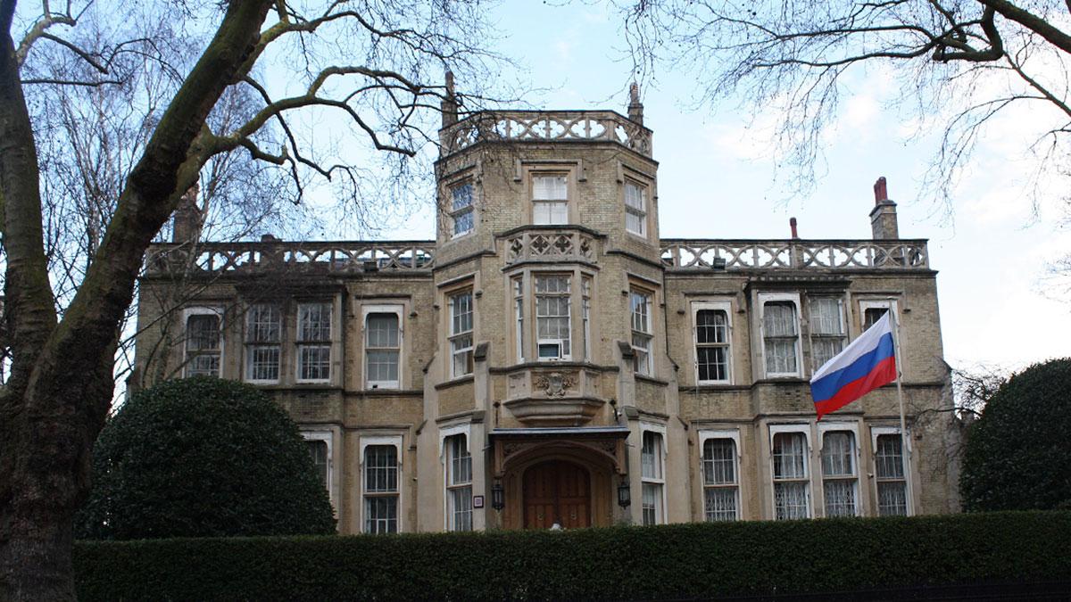 здание посольства РФ в великобритании лондон