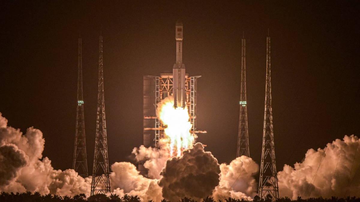 Китайская Ракета-носитель Чанчжэн-7