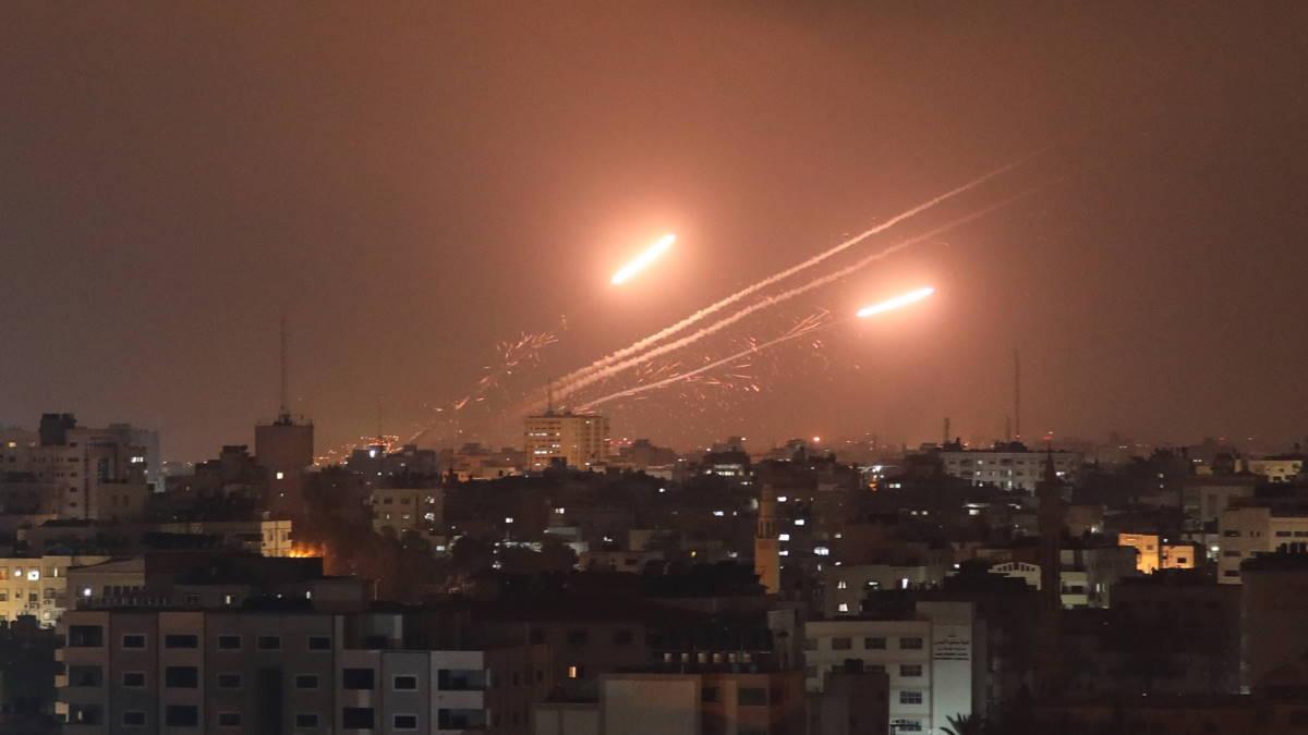 Ракетная атака из сектора Газа по Израилю