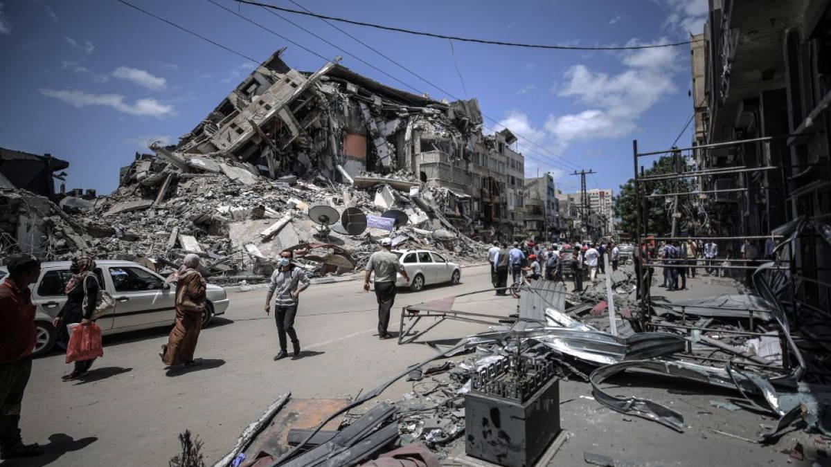 Сектор Газа руины