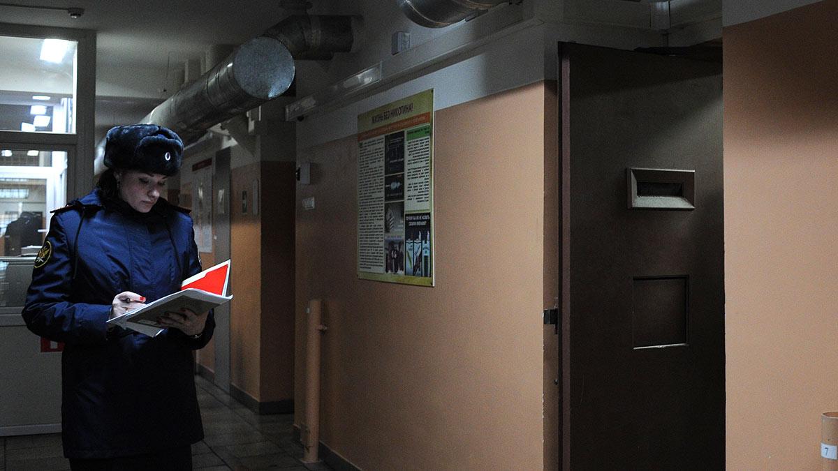 Инспекция изолятор коридор СИЗО №5