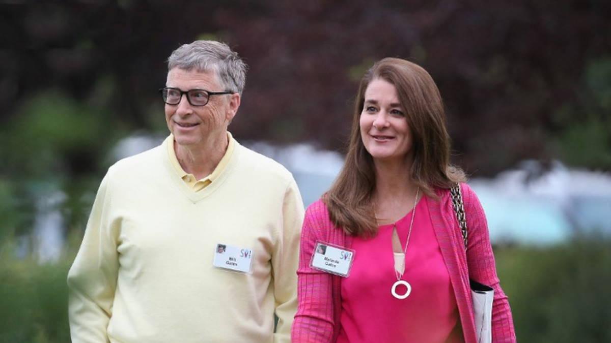 Билл Гейтс и его супруга Мелинда