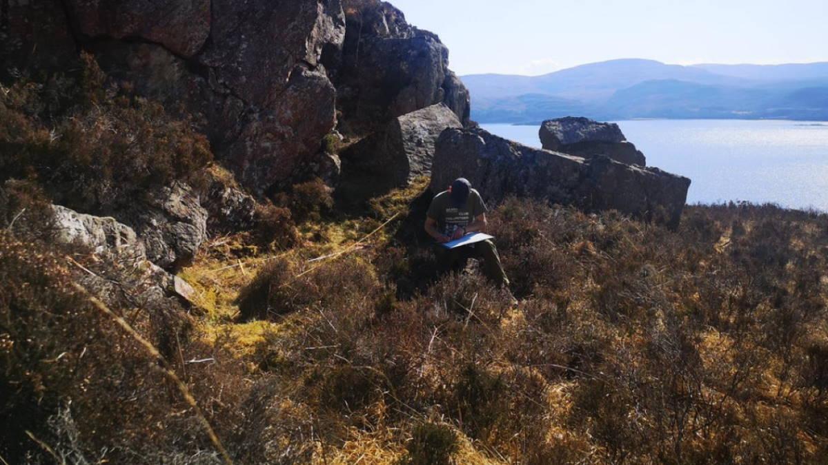 Незаконное производство виски в Шотландии археология
