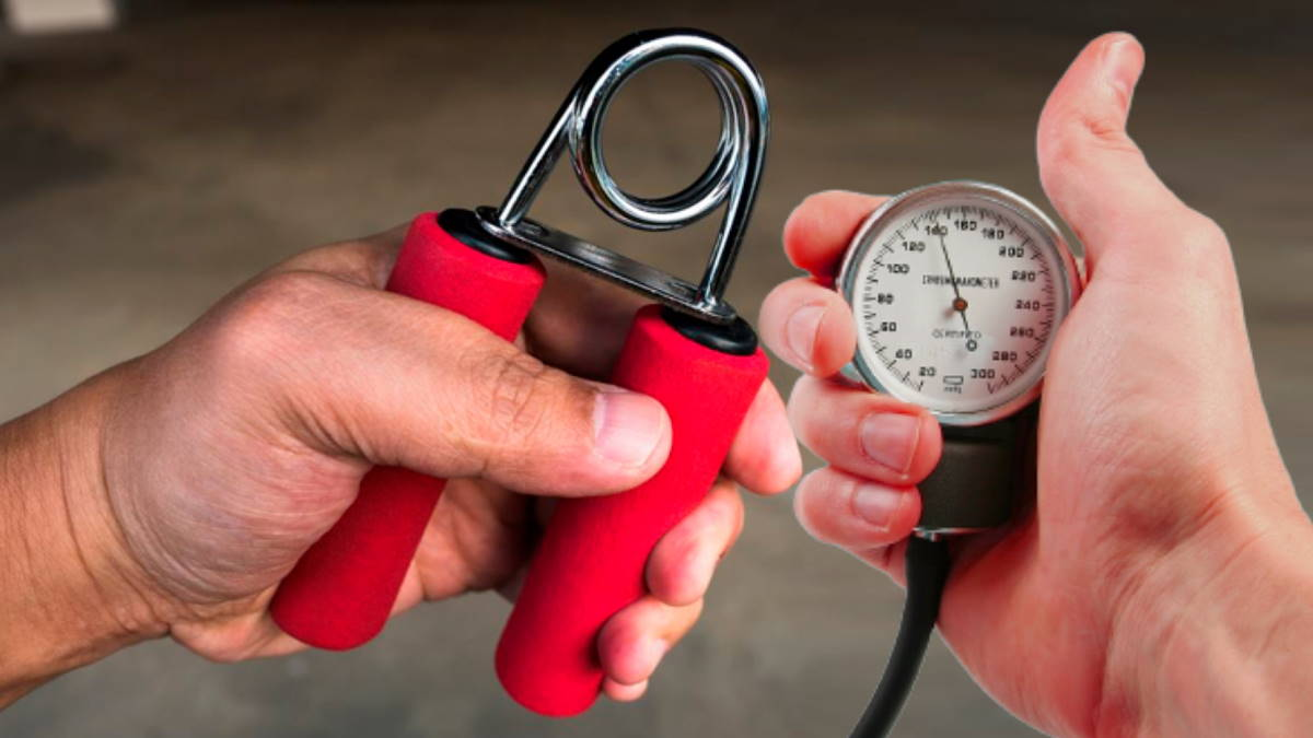 кистевой эспандер и артериальное давление