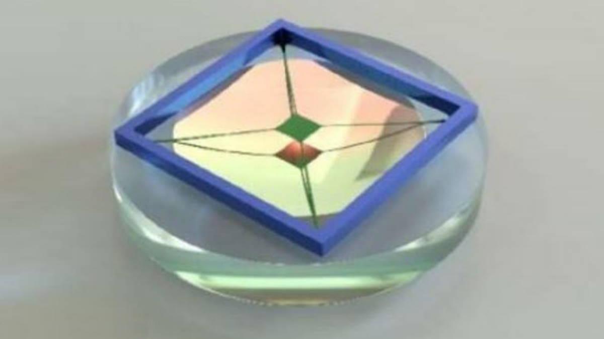 акселерометр размером с монету для нахождения тёмной материи