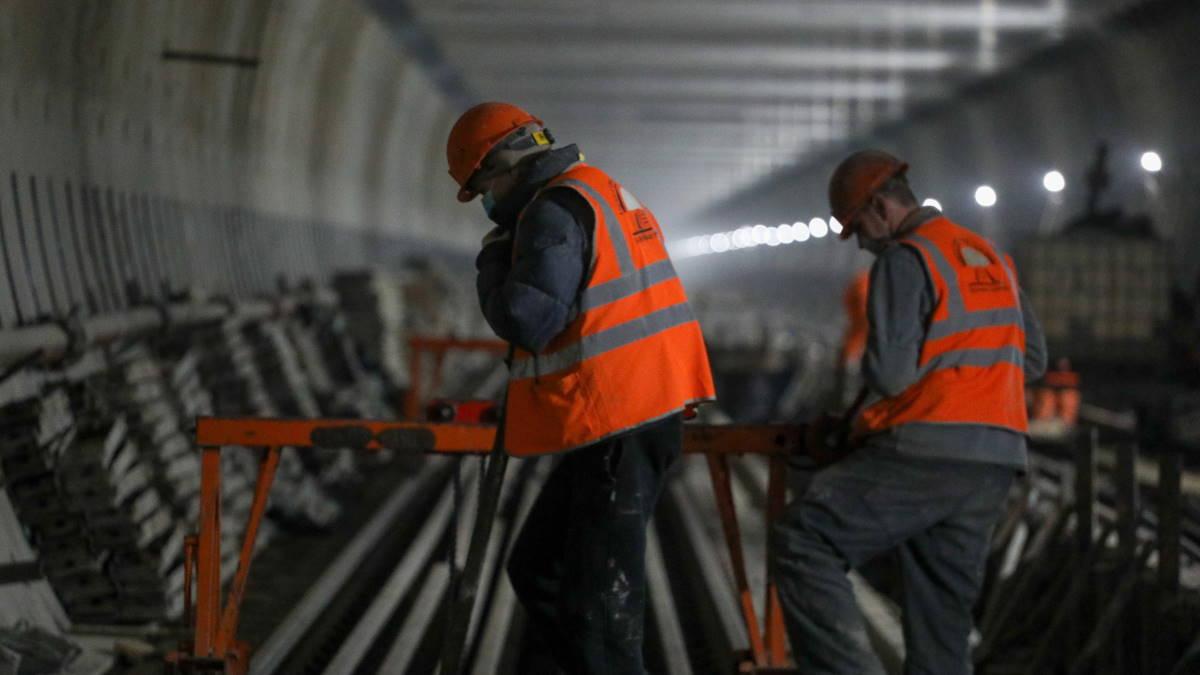 Метрополитен тоннель строительство