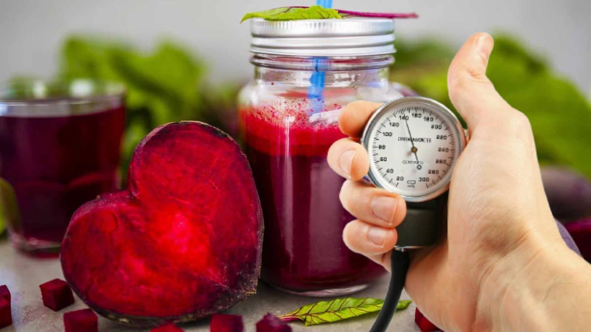 свекольный сок и артериальное давление