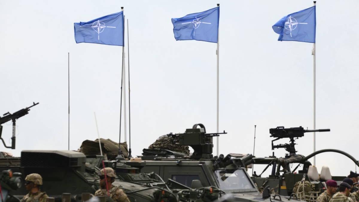 НАТО NATO флаги