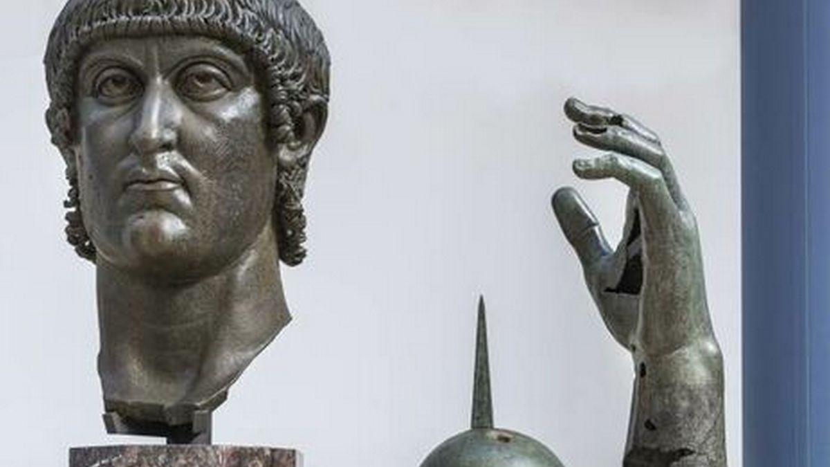 Основная часть статуи