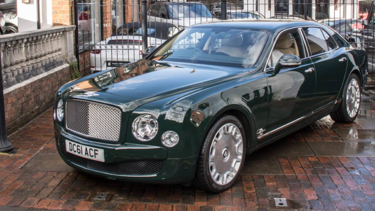 Автомобиль Bentley Mulsanne