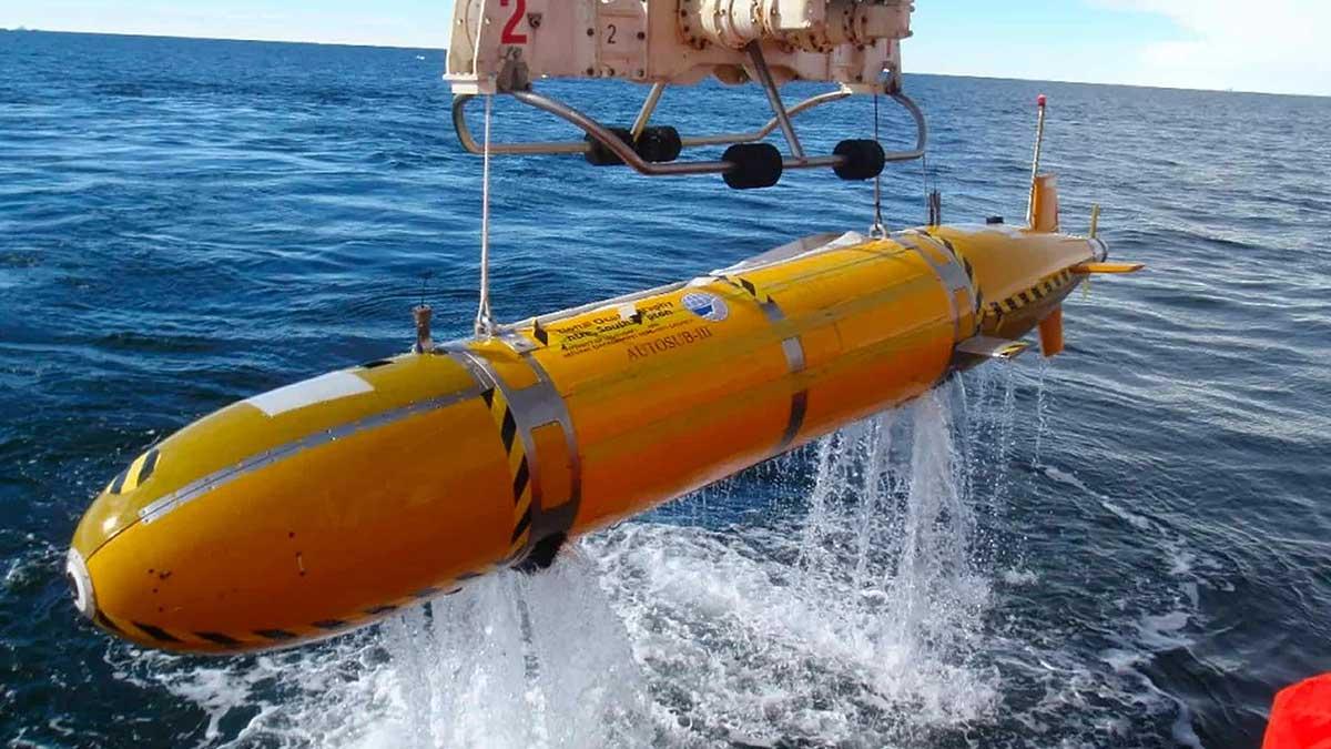 Безэкипажный подводный дрон Посейдон с ядерной энергетической установкой