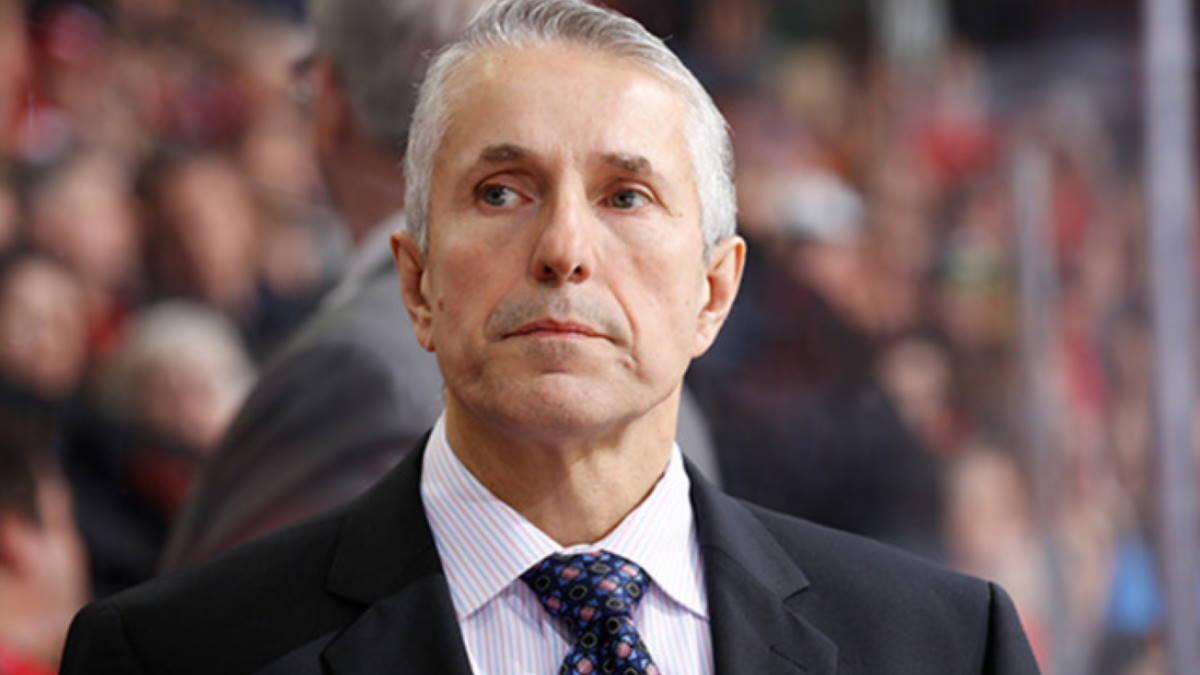 Хоккейный тренер Боб Хартли