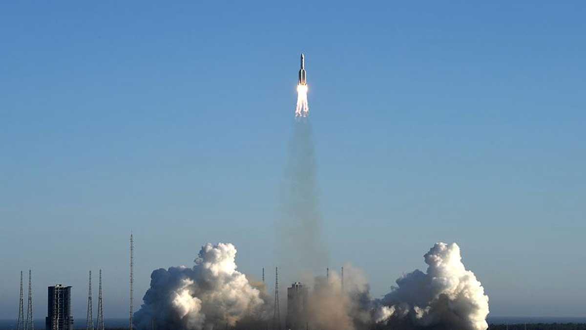 Чанчжэн-5B ракета