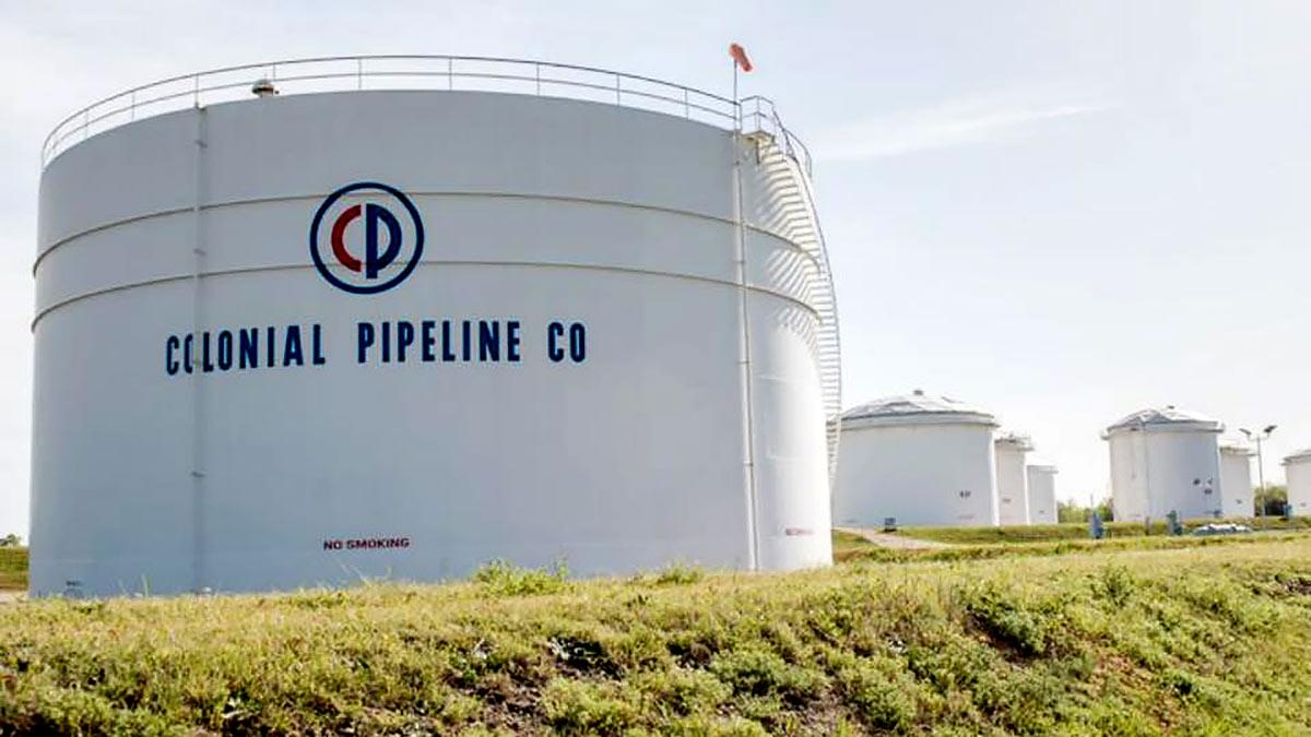 компания Colonial Pipeline резервуары