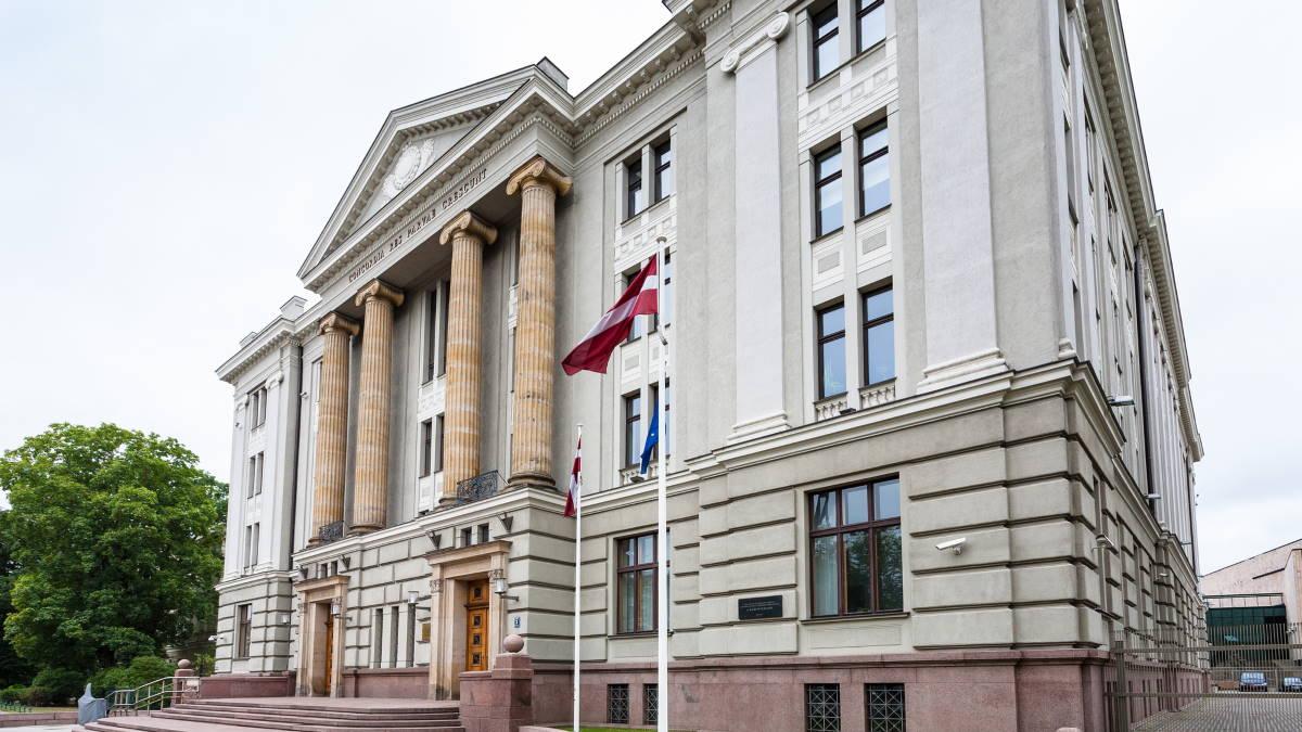 Здание МИД Латвии в Риге