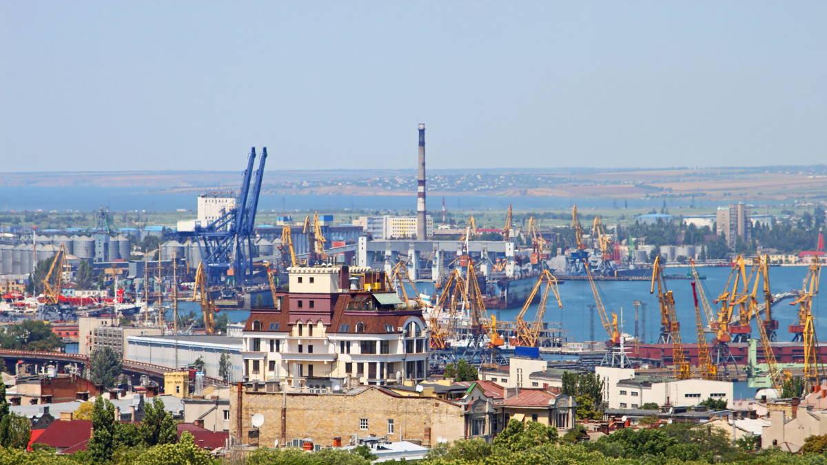 Одесский морской порт