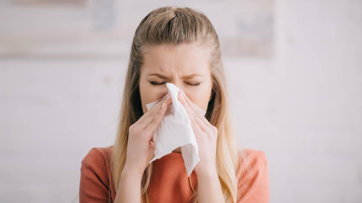 Аллергия насморк