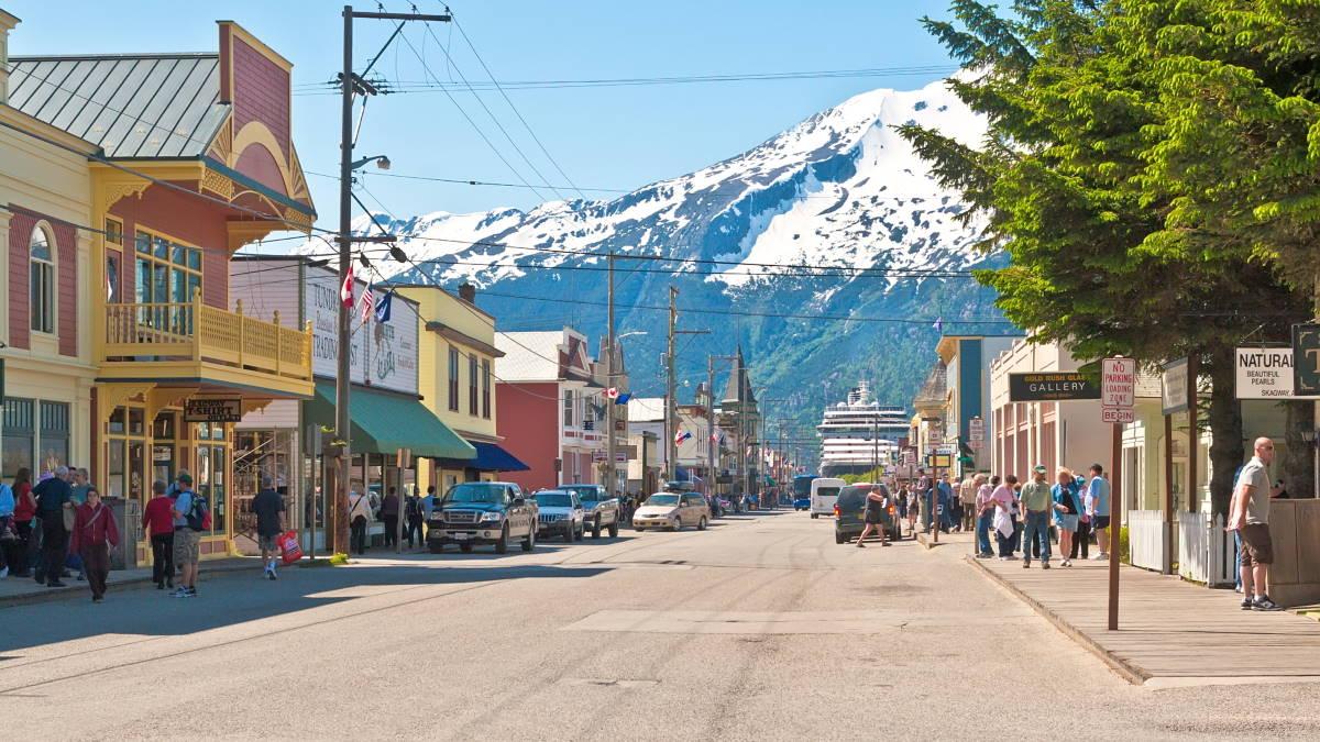 Скагуэй Аляска США