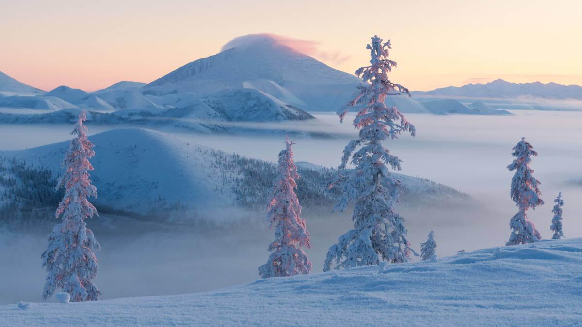 Ольчанский перевал Якутия
