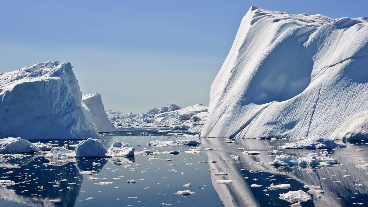 Арктика айсберги