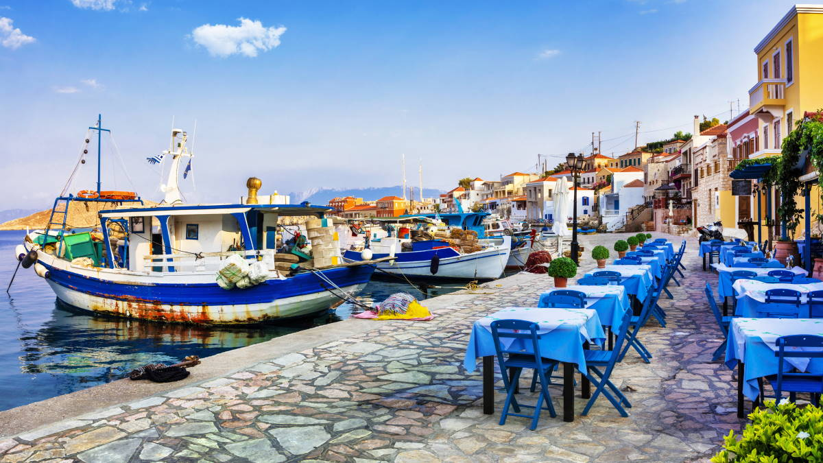 Остров Халки Греция