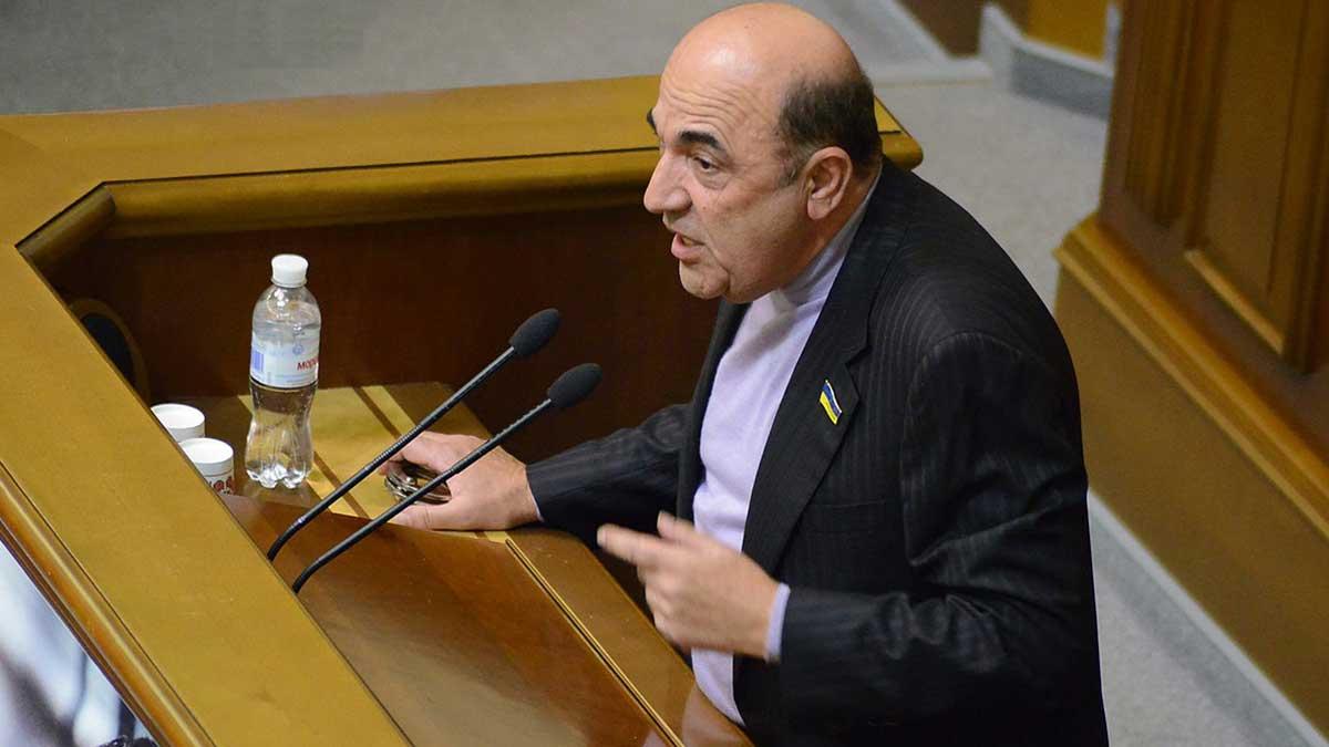 Депутат Верховной Рады Вадим Рабинович