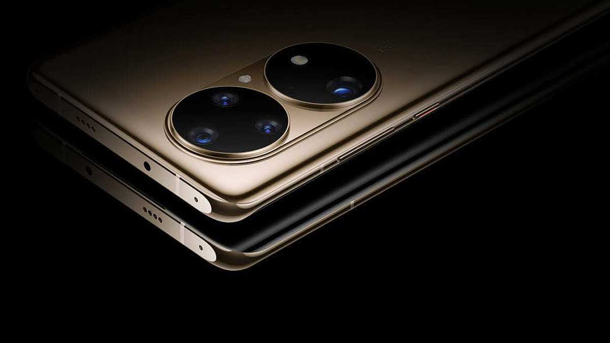 Дизайн Huawei P50 два