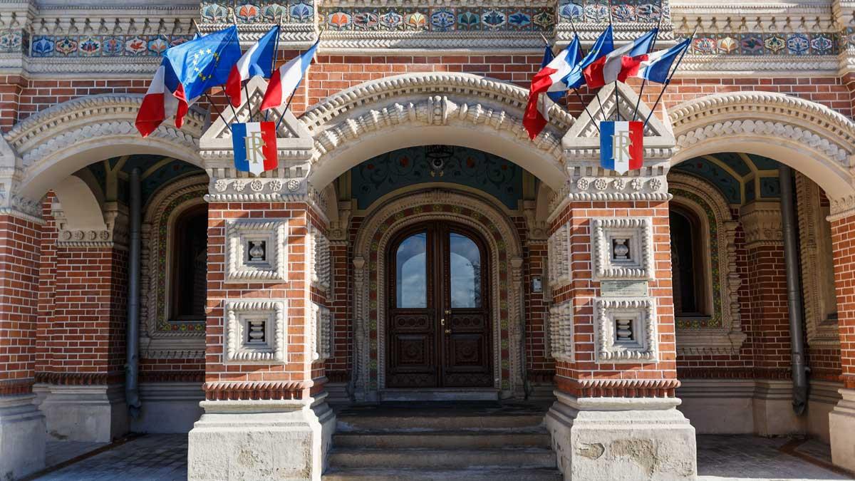 Резиденция французского посла в Москве.