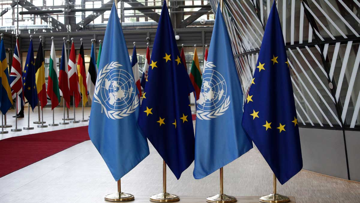 EU Council Building здание Евросоюза