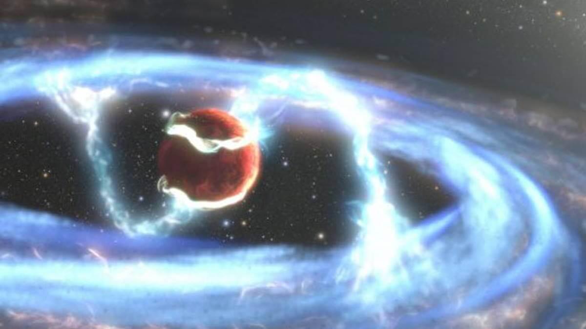 Формирование экзопланеты