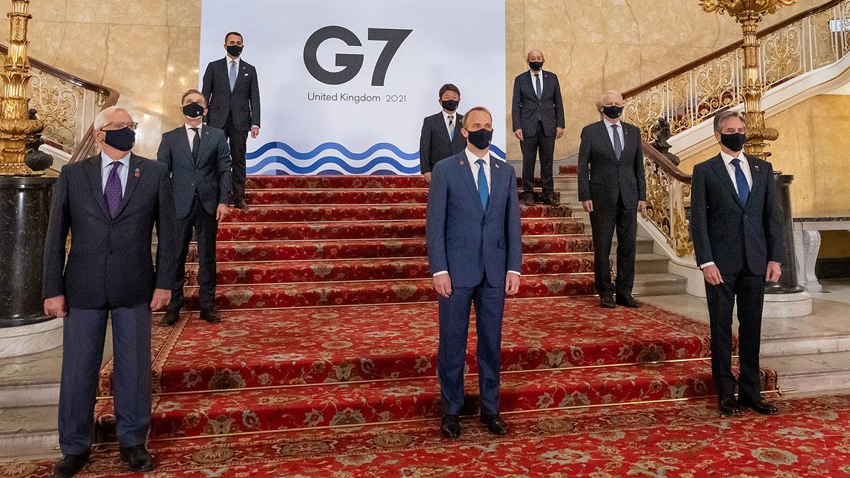 G7 большая семерка 2021