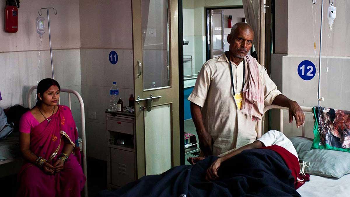 Индия палата женщина больной