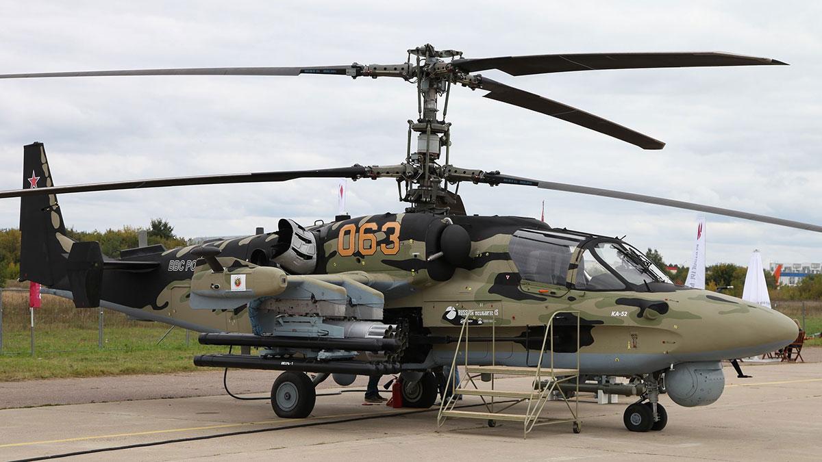 ПТУР «Вихрь-М» на вертолёте Ка-52