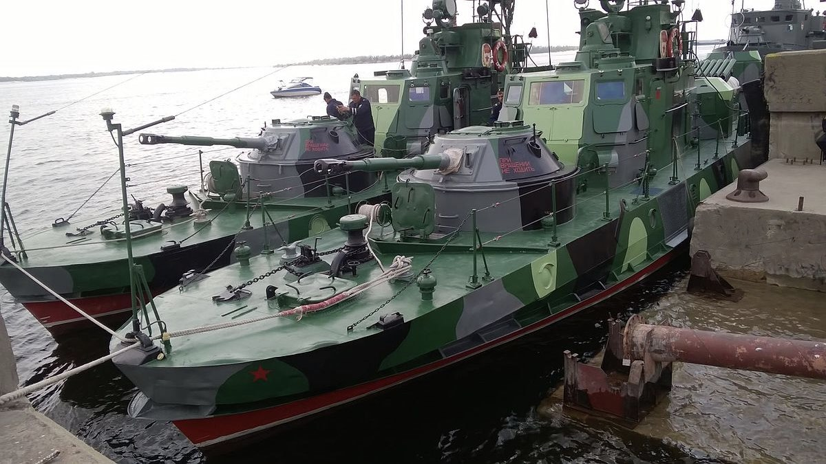 Сторожевые катера проекта 1204 Шмель