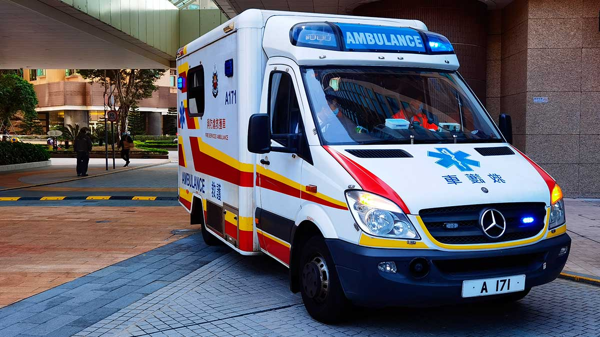Китай машина скорой помощи