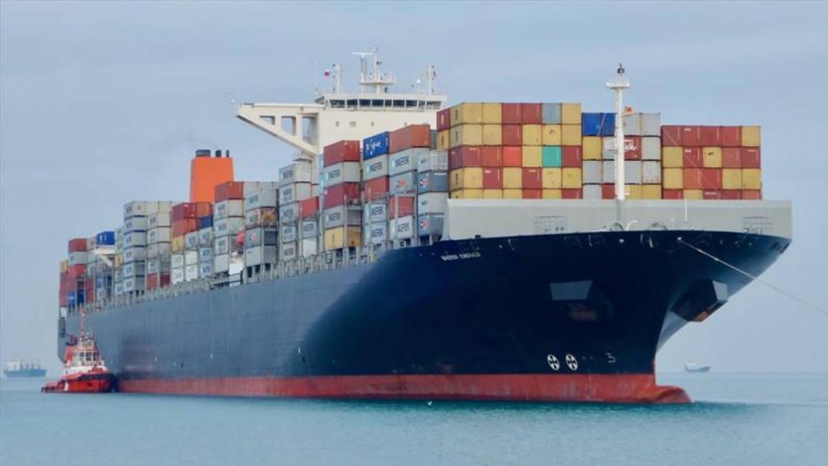 Контейнеровоз Maersk Emerald