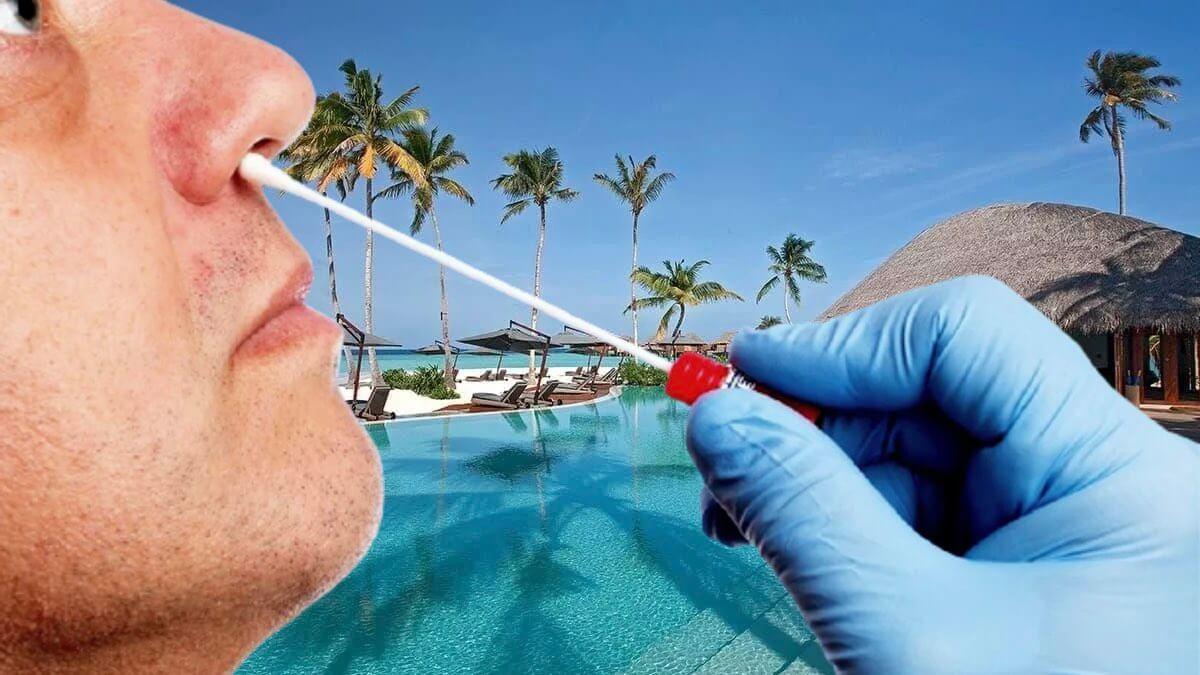 Мальдивы и ПЦР тестирование