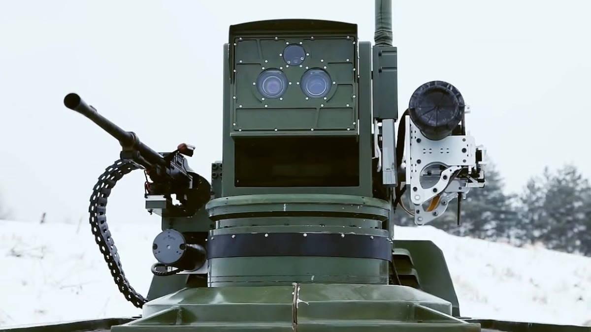 Российский робот Маркер