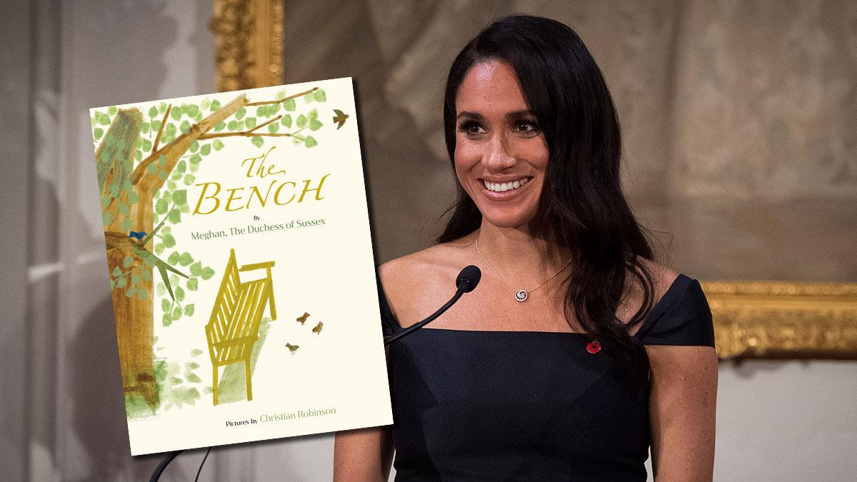 "Меган маркл детская книга ""The Bench"""