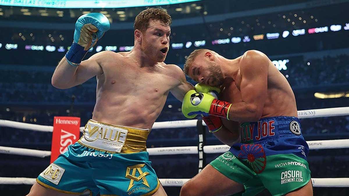 Мексиканец Сауль Альварес против британца Билли Джо
