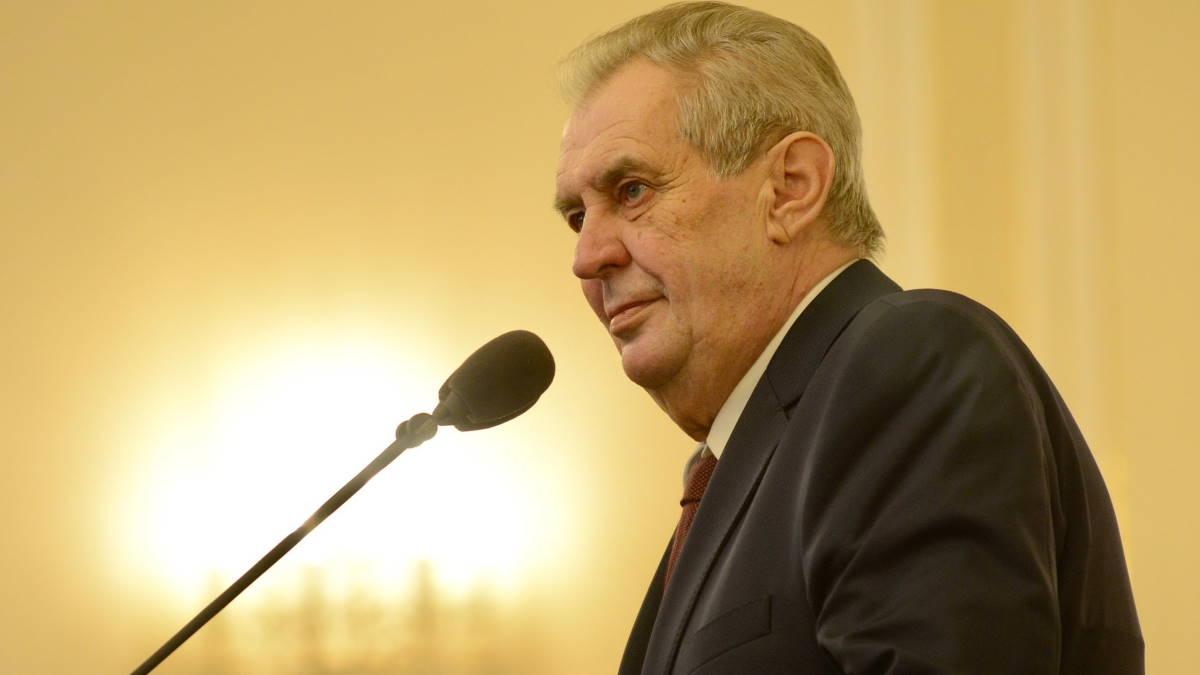 Милош Земан - Milos Zeman