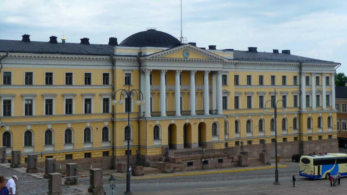 Министерство обороны Хельсинки Финляндия