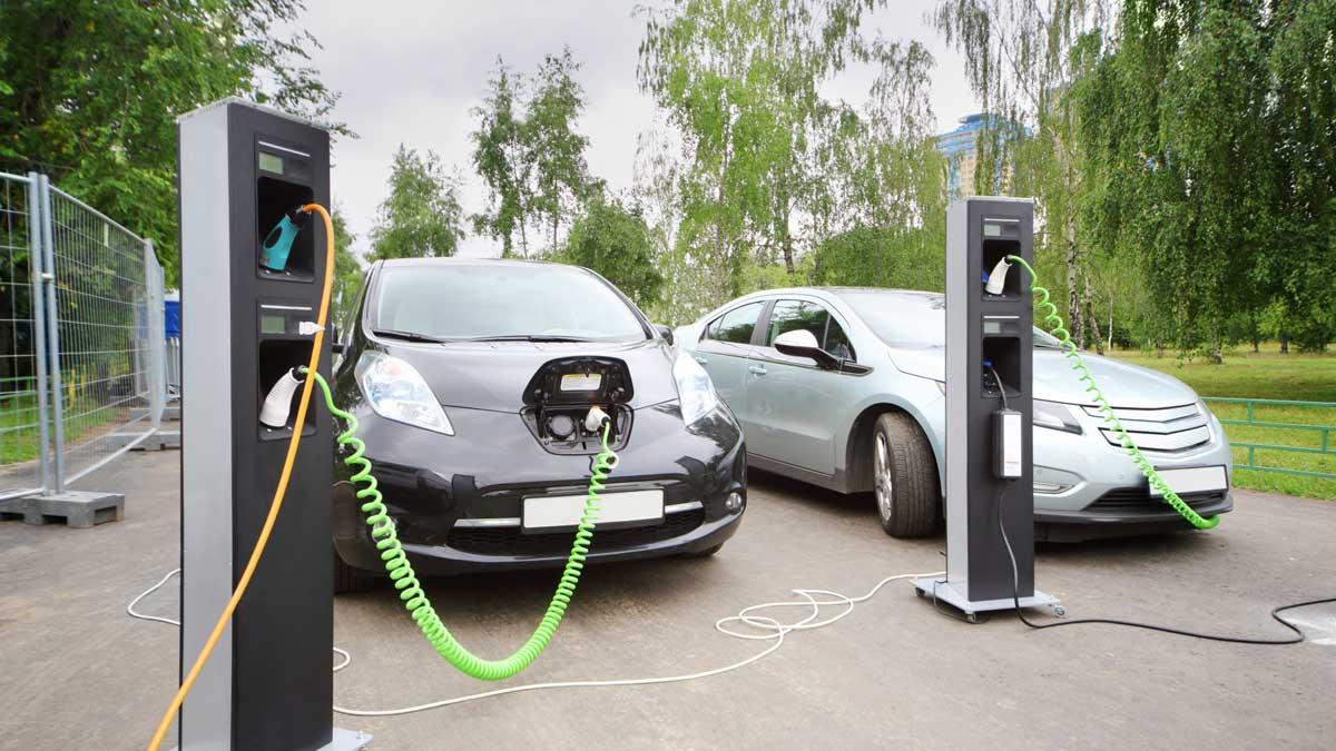 Москва зарядка электромобилей