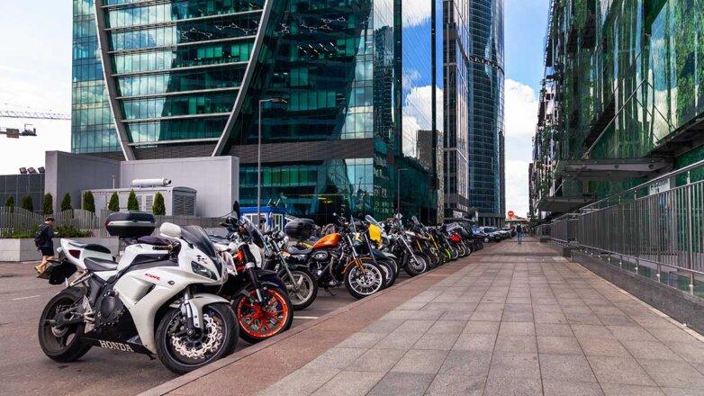 Мотоциклы Москва-Сити