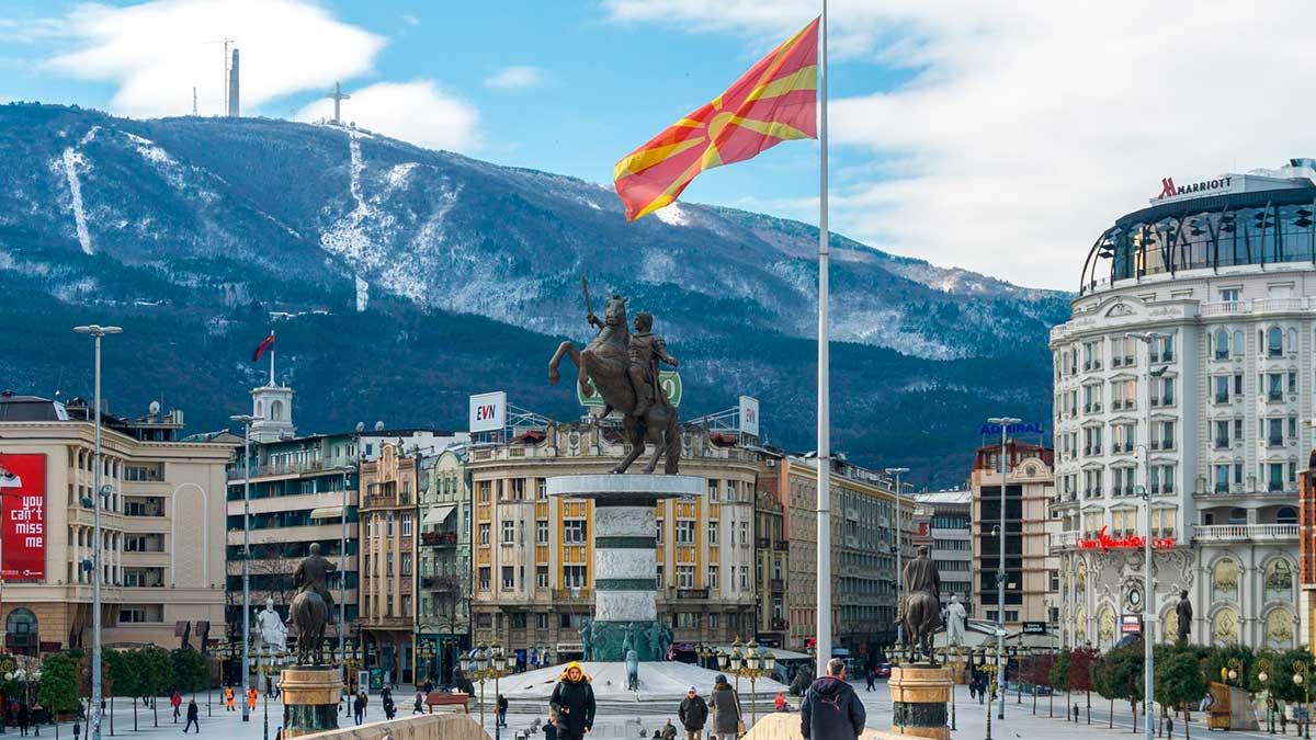 Скопье Северная Македония